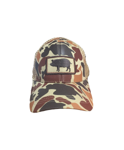 Southern Hooker: Camo Pig Hat