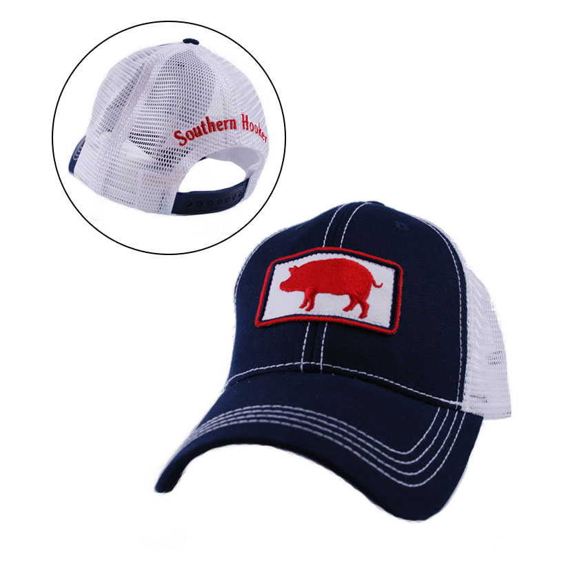 Southern Hooker  Pig Hat. 2015-IT-SoutherHooker-PigHat-Navy-ZOOM 1e76e3e4fbb7