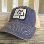 Island Proper Patch Hat   Navy
