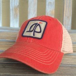 Island Proper Patch Hat   Red