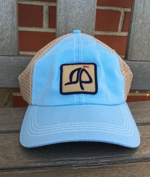Island Proper Light Blue Mesh Logo Hat