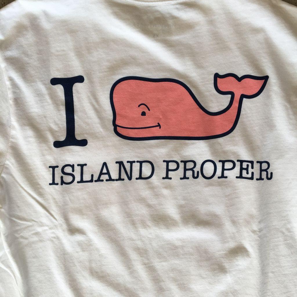 86331a98f ... Vineyard Vines Custom I Whale Island Proper Tee in White Cap ...