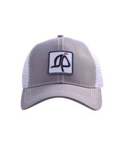 Island Proper Gray Trucker Logo Hat