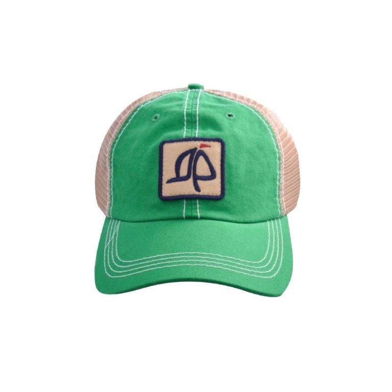 Island Proper Green Mesh Logo Hat