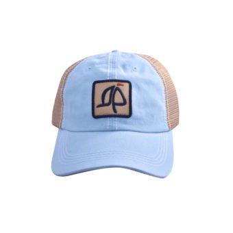 Island Proper Orange Mesh Logo Hat