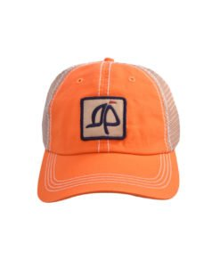 Island Proper Orange Mesh Logo Hat