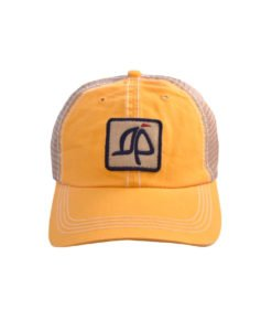 Island Proper Yellow Mesh Logo Hat