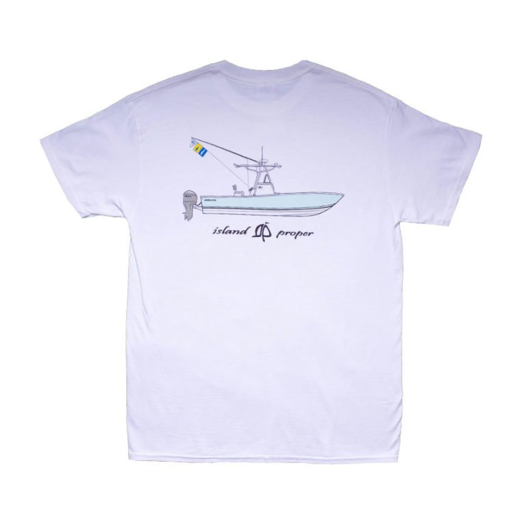 Island Proper Comfort Colors Regulator Pocket Tee   White