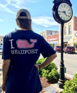 I Whale Beaufort Short Sleeve Vineyard Vines Custom Tee