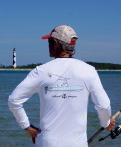 Long Sleeve Island Proper Regulator Performance Shirt