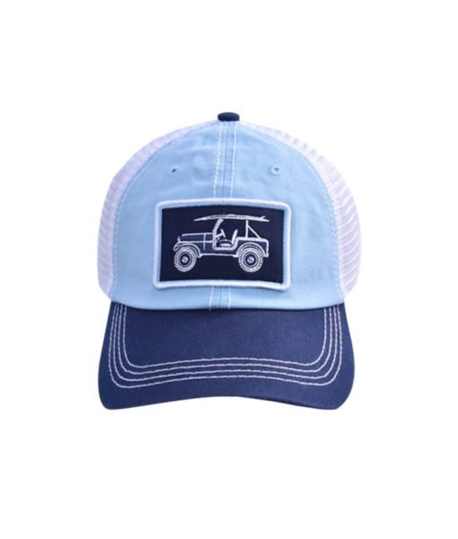 Island Proper Blue/Navy Jeep Hat